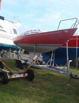 H båd Elvstrøm sælges