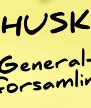 Husk generalforsamling